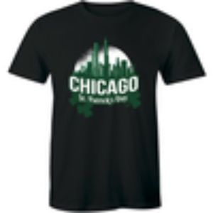 Chicago City St. Patrick's Day Graphic Men T-Shirt